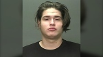 Gordan Eaglebear Lucas (pictured) was wanted in connection to a robbery involving a firearm at the Tuxedo Community Centre on May 1, 2021. (Source: Winnipeg Police Service)