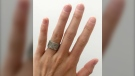 A custom wedding ring valued at $20,000 was stolen from a vehicle parked in southwest Calgary.