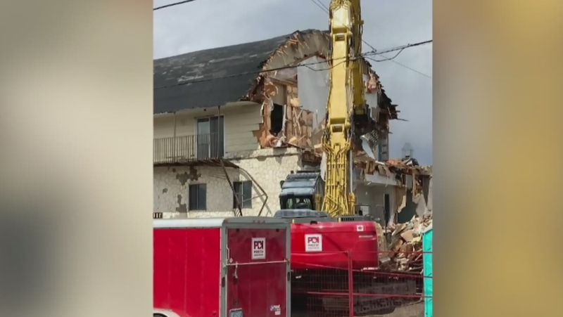 Reaction to demolition of an old northern theatre