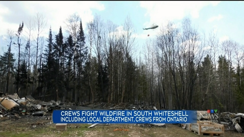 whiteshell fire