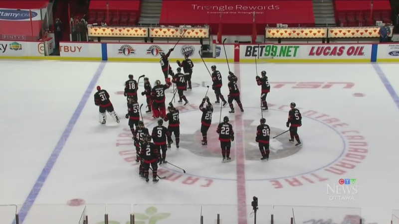 Sens season ends on a high note