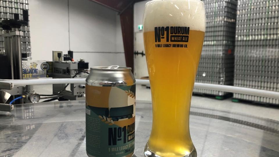 No. 1 Durum Wheat Ale. (Francois Biber/CTV Saskatoon)
