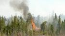 Whiteshell fire