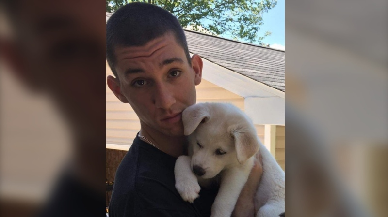 A friend and girlfriend of a man shot and killed in Dartmouth Wednesday night say 22-year-old Tyler Algee was a loving guy and an aspiring mixed martial arts (MMA) fighter. (COURTESY ROBERT KEOUGH & LYNETTE ALGEE-KEOUGH)