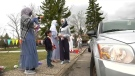 Calgary's Muslim community celebrated Eid Thursday in a different way, due to the pandemic