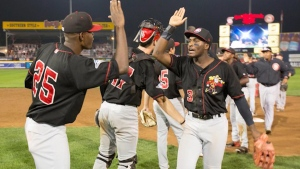 Vancouver Canadians playing ball in Oregon
