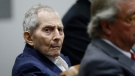 Robert Durst is shown in court during opening statements in his murder trial on March 4, 2020 in Los Angeles, California. (Etienne Laurent/Pool/Getty Images via CNN)