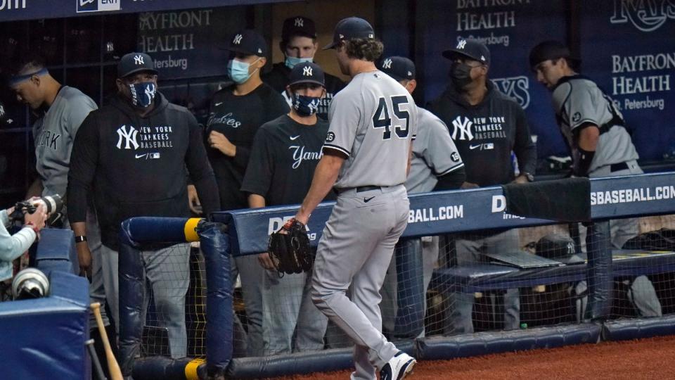 New York Yankees dugout