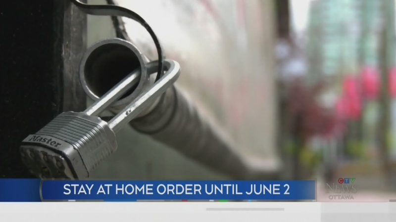 Stay-at-home order extended until June 2nd
