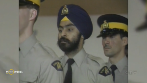 Baltej Dhillon was able to join the RCMP and wear his turban as part of the uniform in 1990, and served in the force for nearly 30 years before retiring in 2019.