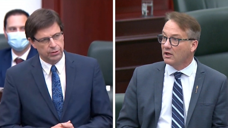 Former UCP caucus chair Todd Loewen, representing the northern rural riding of Central Peace-Notley, and MLA for Cypress-Medicine Hat Drew Barnes were ejected from the United Conservative Party by a caucus vote on May 13, 2021.