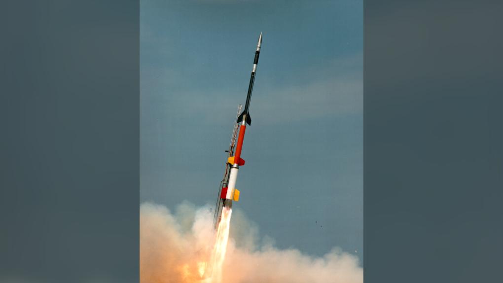Black Brant XII sounding rocket