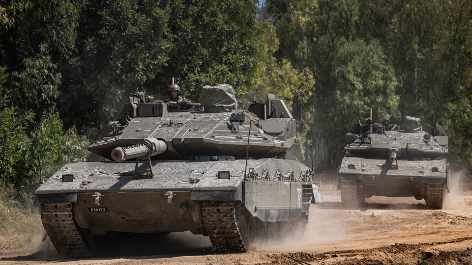 Israeli Gaza border