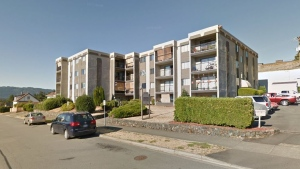 King George Apartments in Port Alberni are shown: (Google Maps)