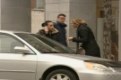 On Your Side reporter Tania Krywiak questions a woman who parked in her illegally in a spot reserved for the disabled.