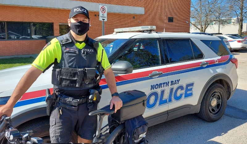 In a news release Friday, police said the bicycle patrols will be in effect throughout the warmer months, primarily downtown and surrounding neighbourhoods. (Supplied)