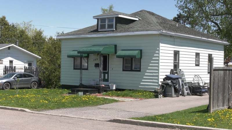 Stan and Tracey Villneff purchased this Renfrew home in February, but can't move in until the current tenant leaves. (Dylan Dyson/CTV News Ottawa)