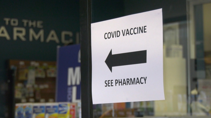 Some small town pharmacists tell CTV News Edmonton inconsistent supply and vaccine hesitancy are two likely factors contributing to a lower percentage of rural Albertans who have received at least one dose.