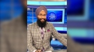 Harnaryan Singh used the Battle of Alberta to nurture his fascination with broadcasting as a child in Brooks, Alta. He would broadcast games between the Flames and Oilers through a toy microphone