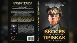 John Langan is releasing Iskocēs Tipiskak: A Spark in the Dark, a two-part book focusing on his life and Indigenous culture. (www.asparkinthedark.com)
