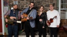 "Musicians Morgan Toney, Isabella Samson, Jesse Cox, and Keith Mullins have joined together for a ""super group"" called Barn Bhreagh. (Courtesy: Morgan Toney)"