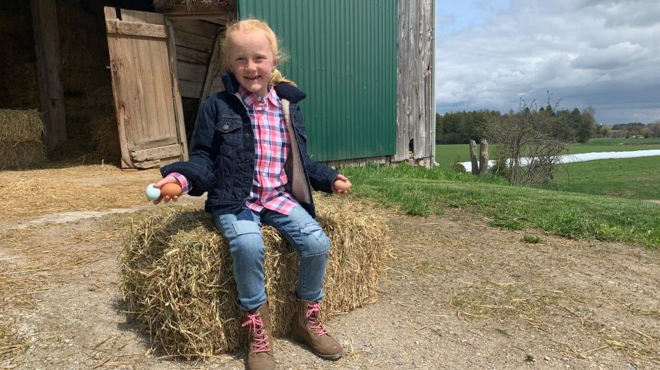 Farm girl Gabby
