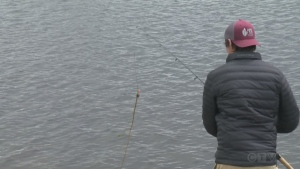 Josh Corbett explores fishing on St. Charles Lake