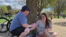 Caught on Camera: Wedding proposal at Mooney's Ba