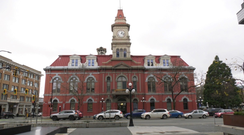 Victoria City Hall is seen in this file photo. (CTV)