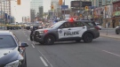 Police are investigating a collision in North York that sent a 10-year-old boy to hospital.