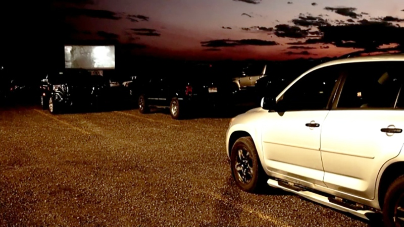 Drive-in theatre promoters are angry after Alberta Health Services cancelled them abruptly Thursday night, a couple of hours before a screening of Dirty Dancing was scheduled for the parking lot of the Grey Eagle Casino