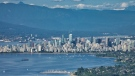 This is an image of downtown Vancouver on a sunny day.