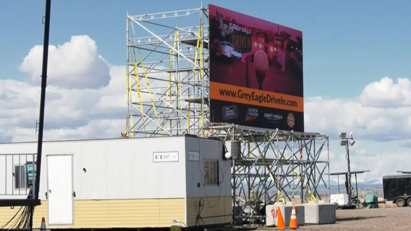 Drive-in theatre promoters upset