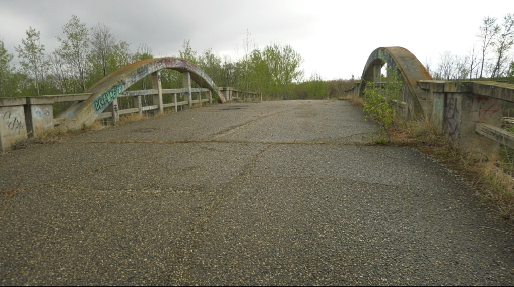 overpass at highway 2