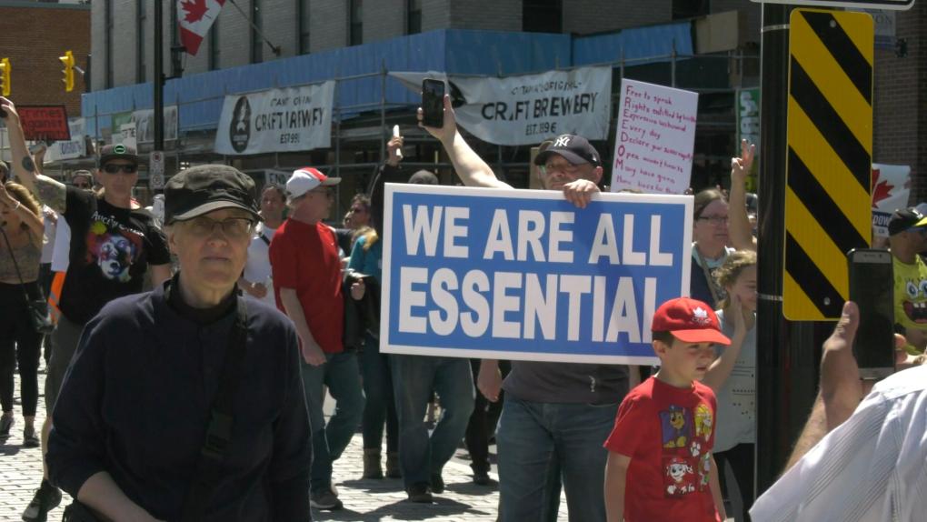 No more lockdowns march Ottawa