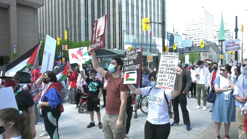 Ottawa Palestine march