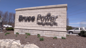 Bruce Power nuclear plant near Kincardine, Ont. on Saturday, May 15, 2021. (Scott Miller/CTV London)