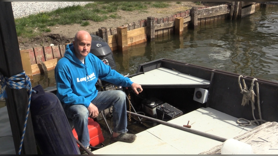 Ray Ferris, owner of Old Cut Boat Livery