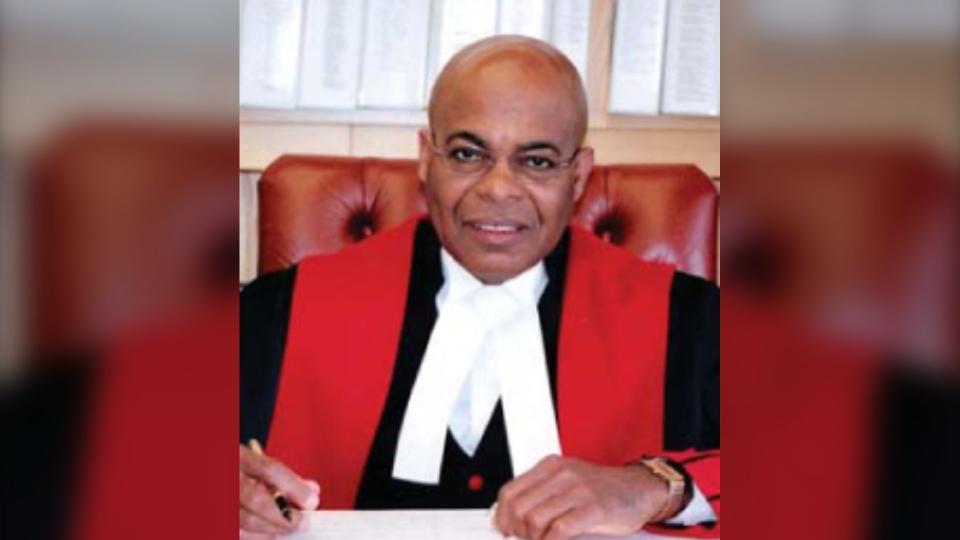 Retired justice Selwyn Romilly