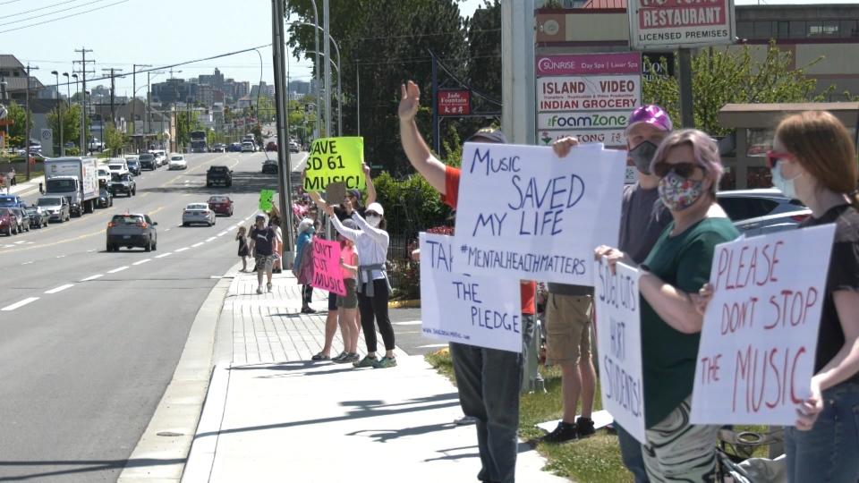 Victoria school protests