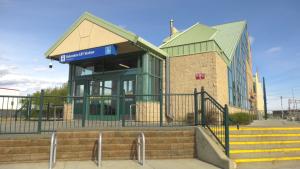 Belvedere LRT Station. (CTV News Edmonton)