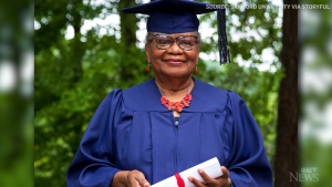 78-year-old graduate gets degree