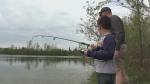 Fishing at Lake Margaret