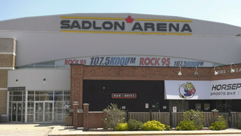 Proposed plan for an expansion of the Sadlon Arena given initial go-ahead on Mon., May 17, 2021. (Rob Cooper/CTV)