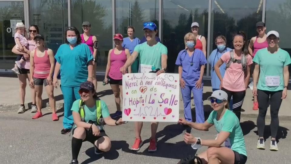 Nurses run for mental health