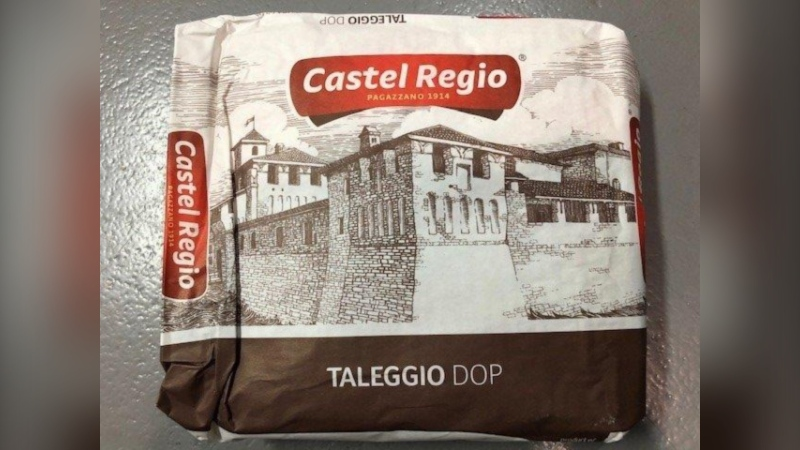 Taleggio DOP cheese with a best before date of May 31, 2021 is being recalled in B.C. and Quebec. (Handout photo/CFIA)