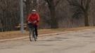 Enhanced bike route, May 16