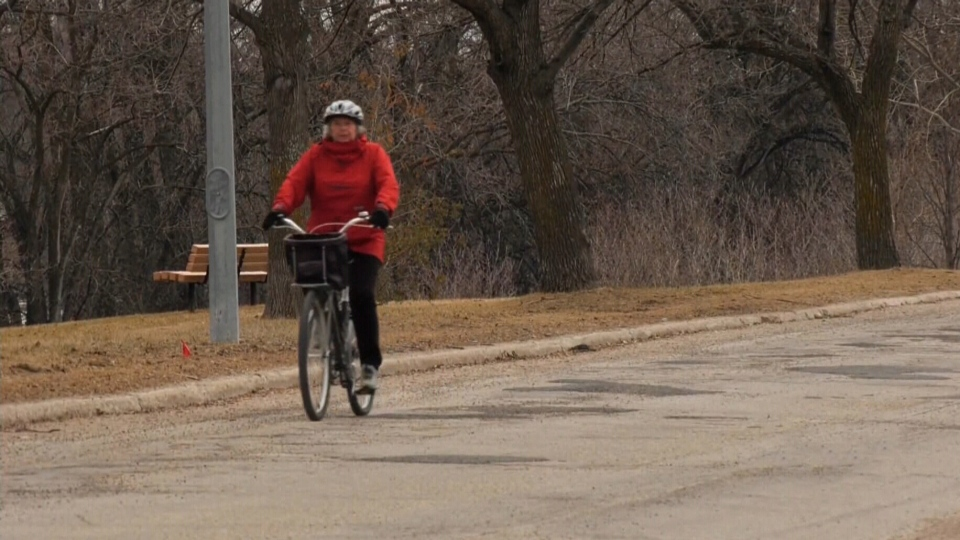 Enhanced bike route