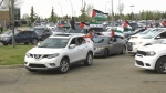 Palestinian rally in Edmonton