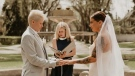 Local politician officiates wedding